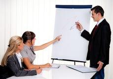 Instrução para o treinamento de equipe de funcionários para adultos Imagens de Stock