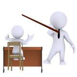 Instructeur stock illustratie