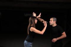 Instructeur d'arts martiaux Images libres de droits