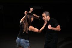 Instructeur d'arts martiaux Photo libre de droits