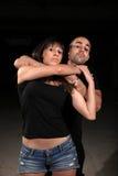 Instructeur de femelle d'arts martiaux photo stock