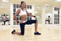 Instructeur de forme physique de Zumba images stock