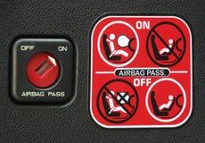 Instruction de sac à air Photos libres de droits