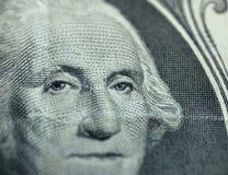 Instruction-macro d'un dollar Photographie stock libre de droits