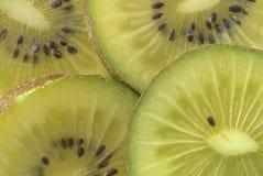 Instruction-macro d'un kiwi Photo stock