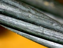 Instruction-macro de câble en métal Photographie stock libre de droits