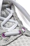 Instruction-macro de chaussure Photo libre de droits
