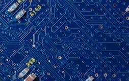 Instruction-macro de circuit Photo stock