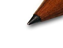 Instruction-macro de crayon Photo stock