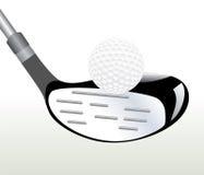 Instruction-macro de golf illustration libre de droits