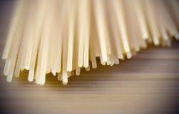 Instruction-macro de pâtes Image libre de droits