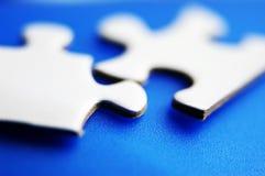 Instruction-macro de puzzle photo stock