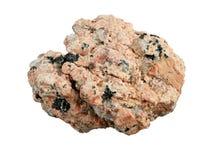 Instruction-macro de roche de granit image libre de droits