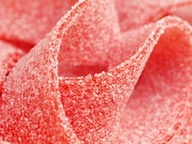 Instruction-macro de sucrerie image libre de droits