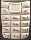 Instruction-macro de téléphone portable. Image stock
