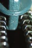 Instruction-macro de tirette Photo libre de droits