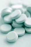 Instruction-macro des pillules de prescription photos libres de droits