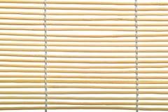 Instruction-macro en bambou de sunblind Images libres de droits