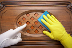 Instructions on cleaning Stock Photography