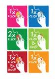 instructions de cliquetis illustration libre de droits