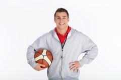 Instructor del baloncesto Imagen de archivo libre de regalías