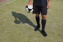Instructor del fútbol Fotos de archivo