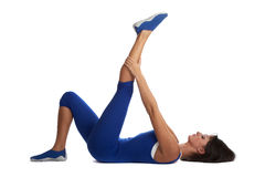 instruktor fitness Fotografia Stock