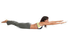 instruktor fitness obraz stock