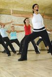 instruktor fitness Fotografia Royalty Free