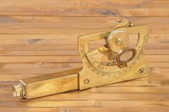 instrument antyczna nawigacja Zdjęcia Royalty Free