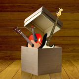 Instrument box Royalty Free Stock Photos