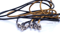 Instrument cables Stock Photography