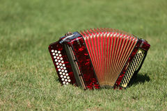 Instrument de Bayan photo libre de droits