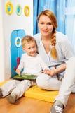 Instrument de fils de mère Images libres de droits