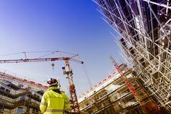 Instrument de mesure, examinant et construction Image libre de droits