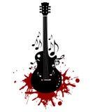 Instrument de musique abstrait Photo stock