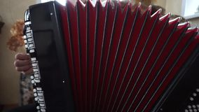 Instrument de musique Bayan banque de vidéos