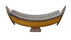 Instrument de musique classique en bois thaïlandais de xylophone Photographie stock