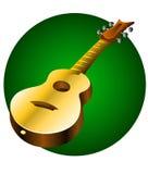 Instrument de musique de guitare Illustration Libre de Droits