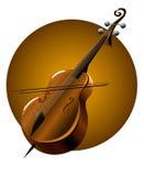 Instrument de musique de Kontrobas Illustration Libre de Droits