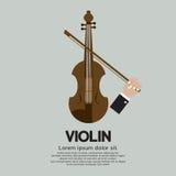 Instrument de musique ficelé par violon Photographie stock