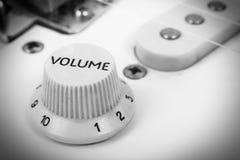 Instrument de musique - solide-corps de guitare électrique de fragment Photo stock