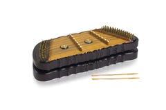 Instrument de musique thaï de dulcimer Photo stock