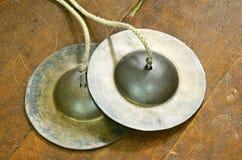 Instrument de musique thaïlandais de percussion de style. image stock