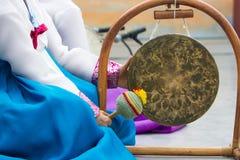 Instrument de musique traditionnel coréen photos stock