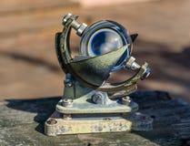 Instrument de navigation de mer de vintage images stock