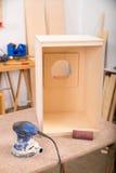 Instrument de percussion dans l'atelier Image stock