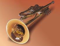 Instrument de vent - la pipe, Images stock