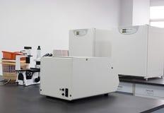 Instrument in een laboratorium Royalty-vrije Stock Foto