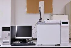 Instrument in einem Labor stockfotografie